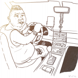Anshan taxi driver